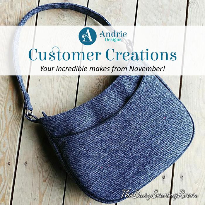 Customer Creations - November 2018 - Andrie Designs