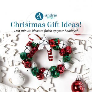 Last Minute Christmas Ideas - Andrie Designs