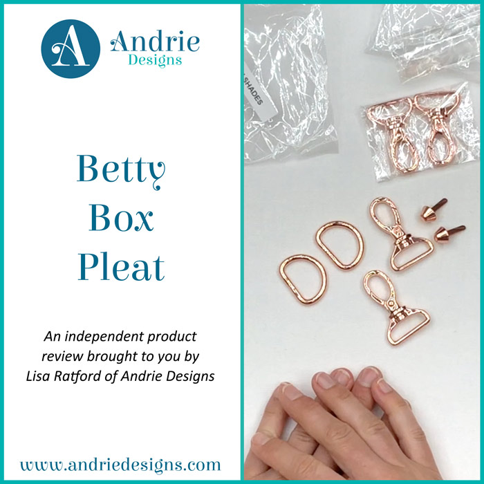 Betty Box Pleat - Andrie Designs