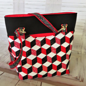 This beauty was created using fabric weaving and the WEFTY tool! - Andrie Designs