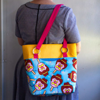It's Bubble 'O Bill! Love it! Classic Market Tote - Andrie Designs