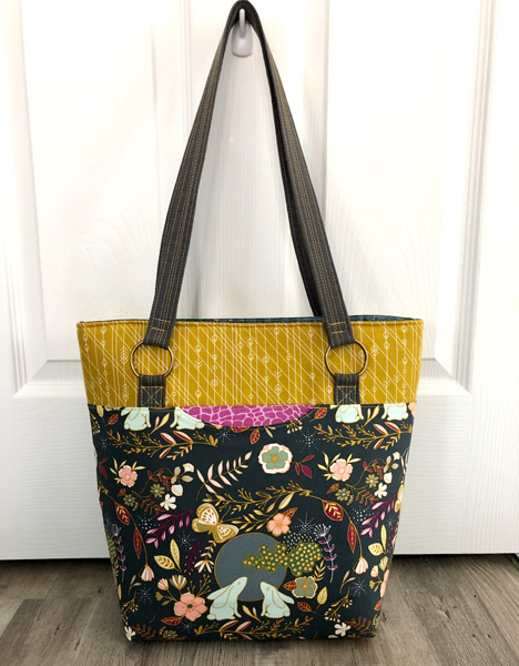 Beautiful earthy tones Classic Market Tote - Andrie Designs