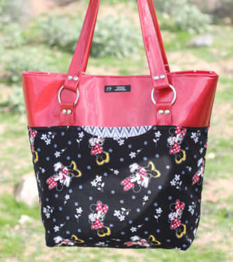 Fun Minnie Mouse Classic Market Tote - Andrie Designs