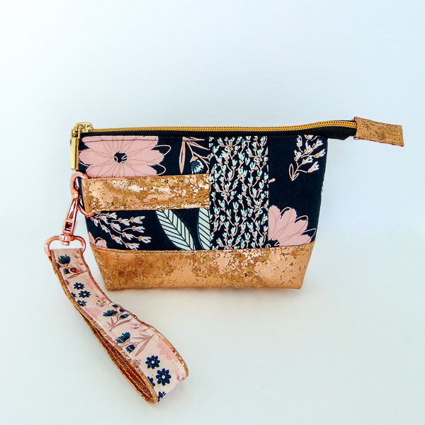 Finished Clutch with Strap - Andrie Designs