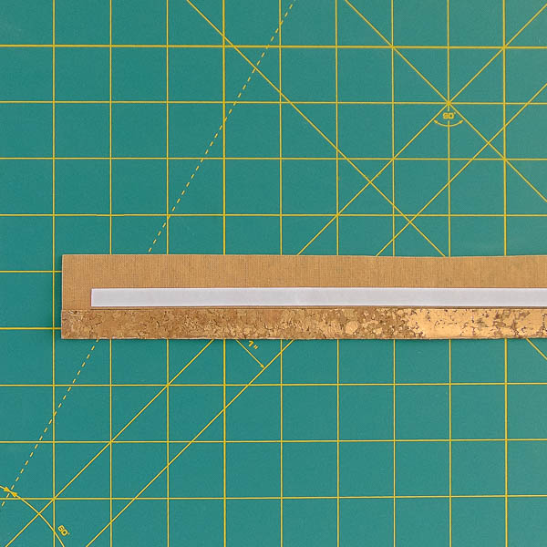 One side tape towards middle - Andrie Designs