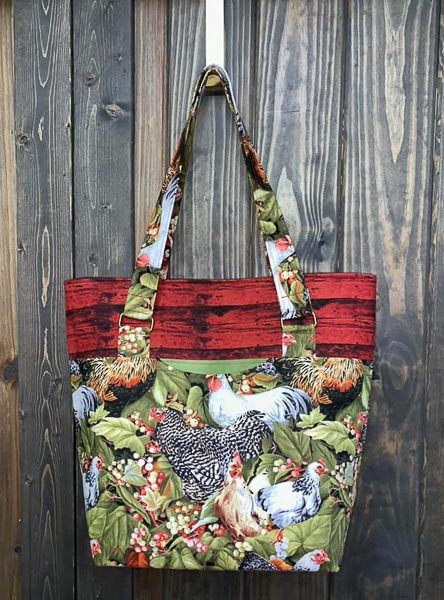 Paula's Classic Market Tote - Andrie Designs