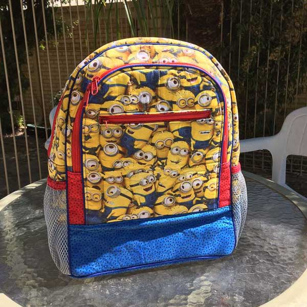 Elaine's Adventure Time Backpack - Andrie Designs