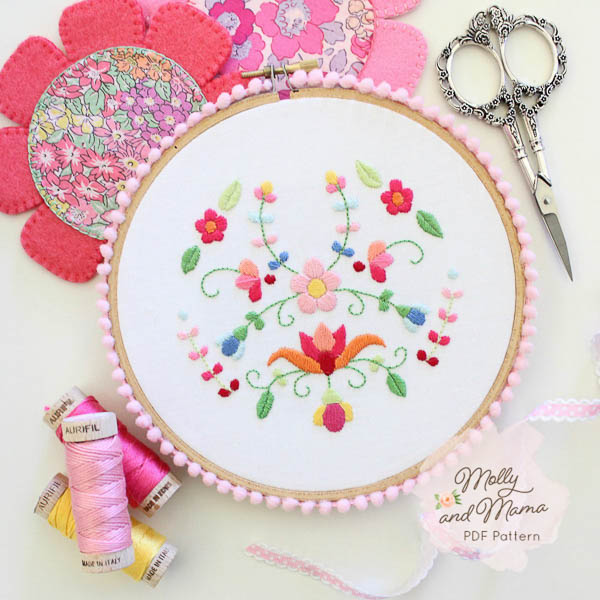Hoop Embroider Art by Molly and Mama - Andrie Designs
