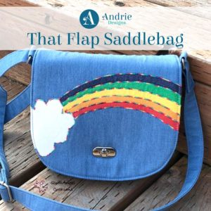 That Flap Saddlebag - Andrie Designs