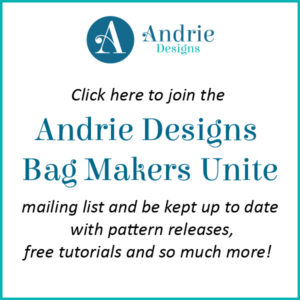 Bag Makers Unite Mailing List - Andrie Designs
