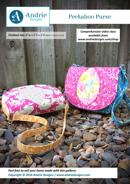 Andrie Designs - Peekaboo Purse
