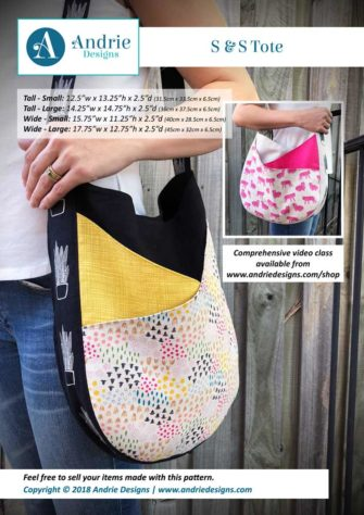 Andrie Designs - S & S Tote