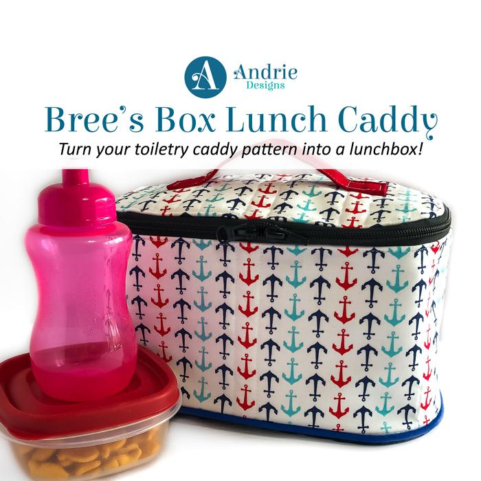 Bree's Box Lunch Caddy - Andrie Designs