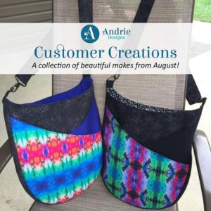 Customer Creations - August 2019 - Andrie Designs