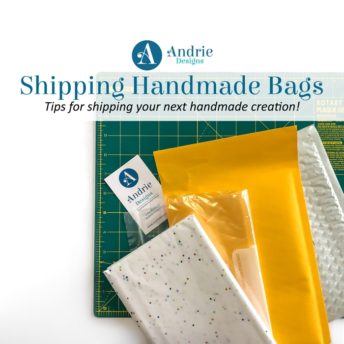 Shipping Handmade Bags - Andrie Designs