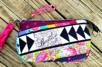Beelieve V Pouch - Andrie Designs