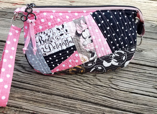 Pretty n' Pink V Pouch - Andrie Designs