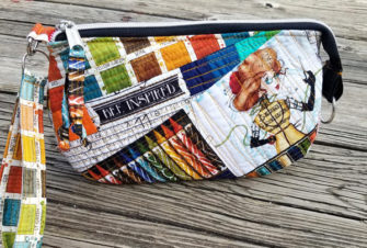 Bee Inspired V Pouch - Andrie Designs