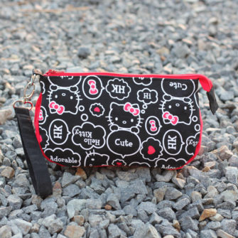 Hello Kitty-themed V Pouch - Andrie Designs