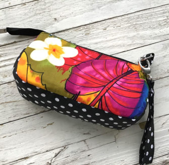 Bright and colourful V Pouch - Andrie Designs