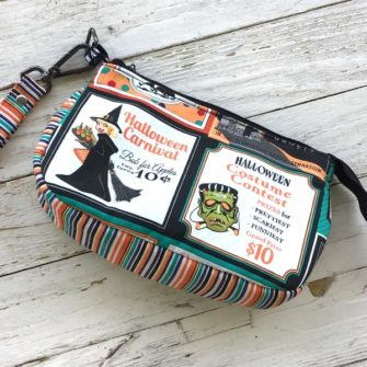 Happy Halloween V Pouch - Andrie Designs