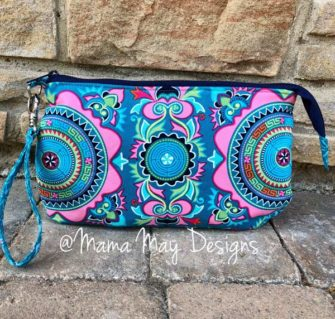 Colourful V Pouch - Andrie Designs