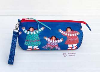 Alaskan-themed V Pouch - Andrie Designs