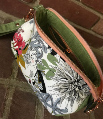 Inside the Ghastlies V Pouch - Andrie Designs
