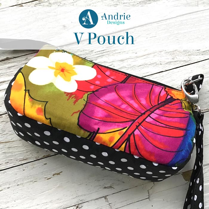 Pattern Inspiration for the V Pouch - Andrie Designs