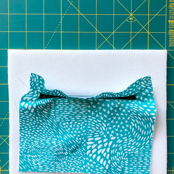 Pocket ironed but messy - Zipper Pockets on Foam - Tips - Andrie Designs