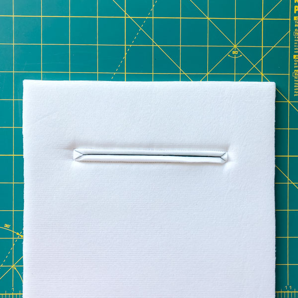 Pocket ready to trim - Zipper Pockets on Foam - Tips - Andrie Designs