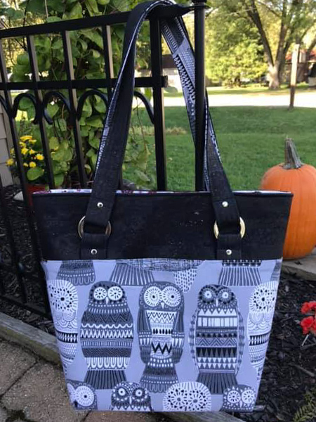Terry's Classic Market Tote - Andrie Designs Month in Review - September 2019
