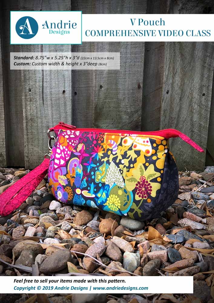 V Pouch - Andrie Designs