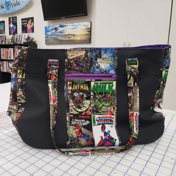 Amanda's Goin' Uptown Tote - Customer Creations - November 2019 - Andrie Designs