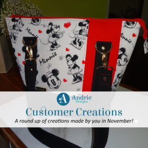 Customer Creations - November 2019 - Andrie Designs