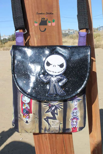 Lawanda's Polly Crossbody Pouch - Customer Creations - November 2019 - Andrie Designs