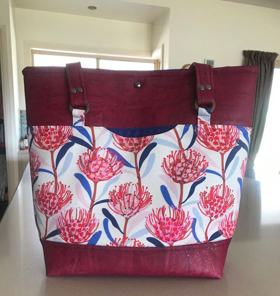 Lia's Classic Market Tote - Customer Creations - November 2019 - Andrie Designs