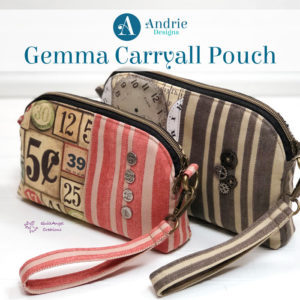 Gemma Carryall Pouch - Andrie Designs
