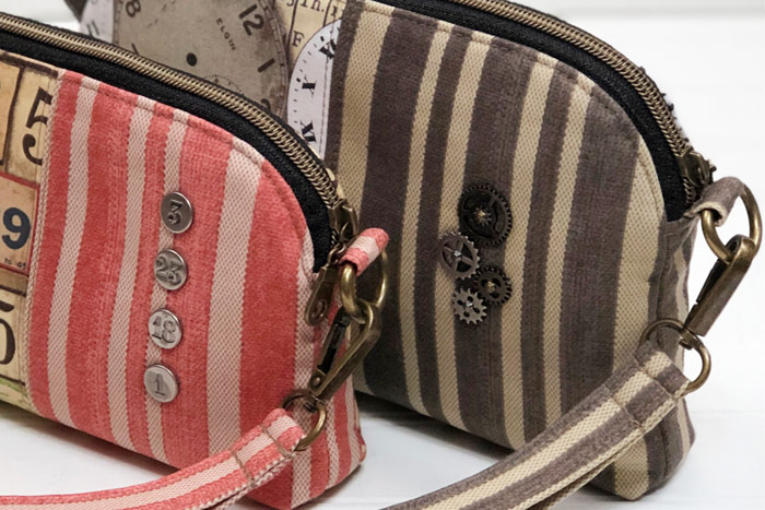 Those details... Gemma Carryall Pouch - Andrie Designs