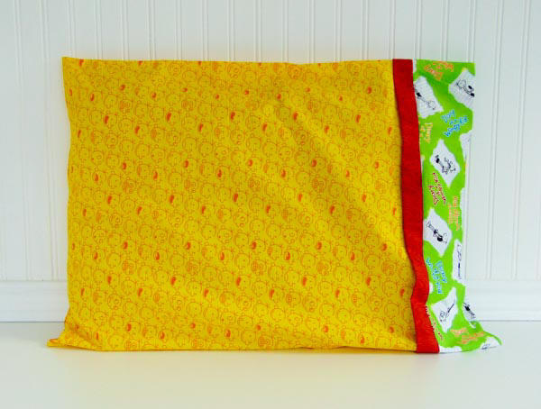 Pillowcase - Homemade Gifts Kids Can Sew - Andrie Designs