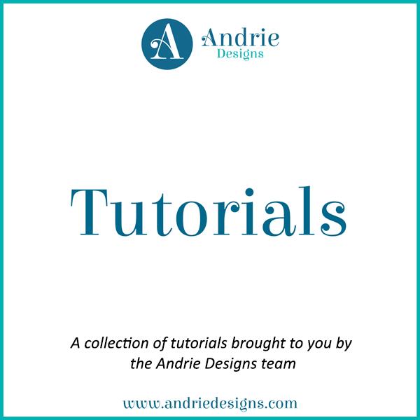 Tutorials - Andrie Designs