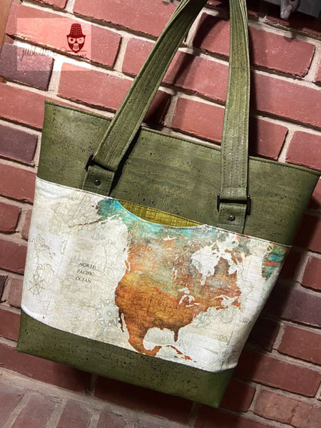 Abbe's Classic Market Tote - Customer Creations - January 2020 - Andrie Designs