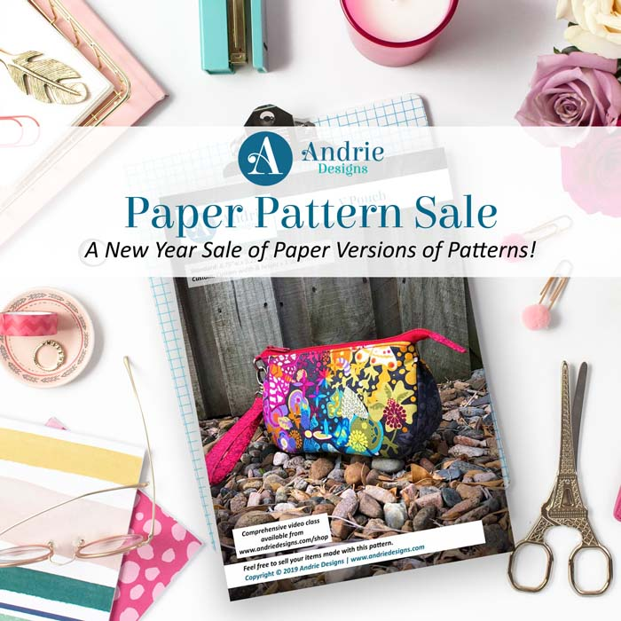 Paper Pattern Sale - Andrie Designs