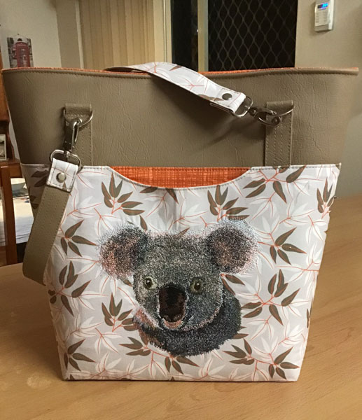 Rosemarie's Classic Market Tote - Customer Creations - January 2020 - Andrie Designs