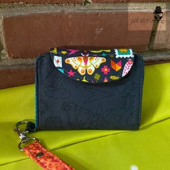 Abbe's Alison Glass Layla Essentials Purse - Andrie Designs