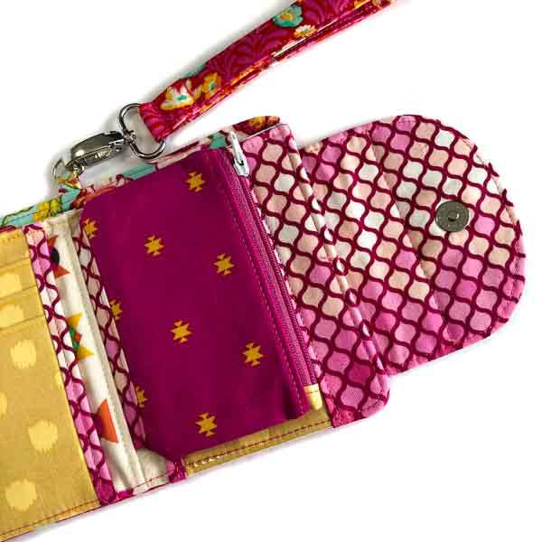 Close up - Layla Coin Pouch - Andrie Designs