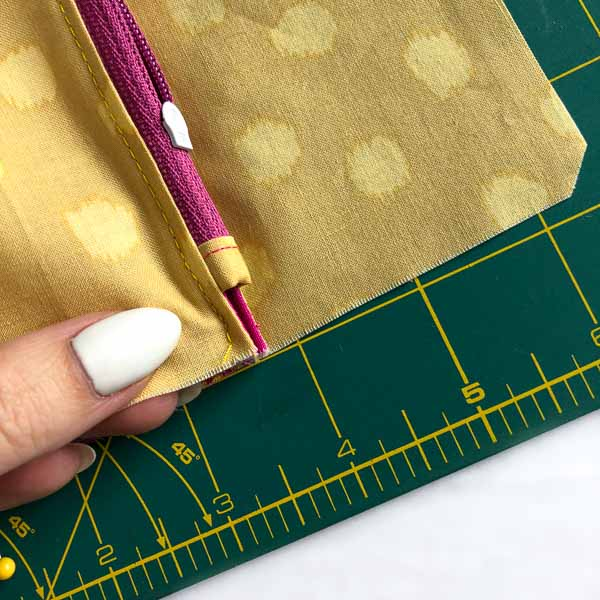 Have seam towards lining - Layla Coin Pouch - Andrie Designs