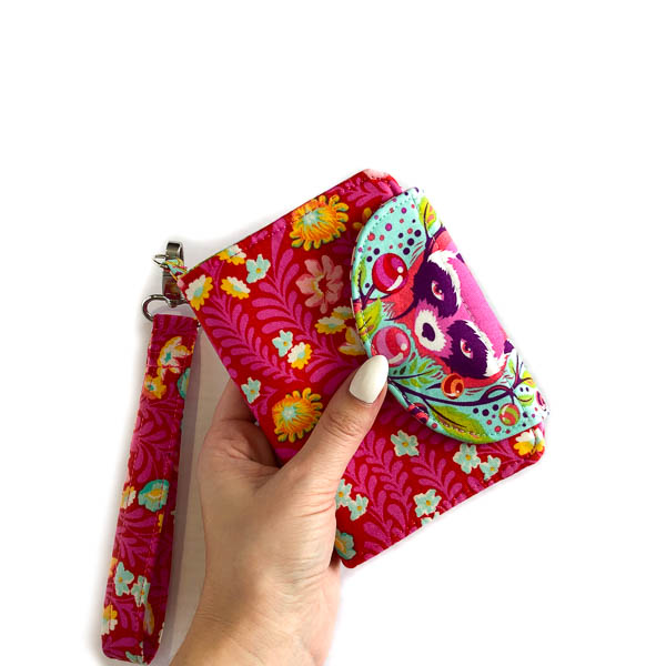 Holding - Layla Coin Pouch - Andrie Designs