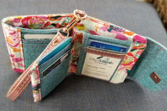 Inside of Lorna's Layla Essentials Purse - Andrie Designs
