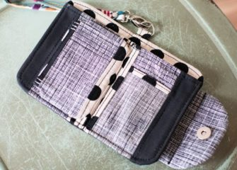 Inside of Milagros' Layla Essentials Purse - Andrie Designs